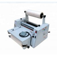 Best 4 rollers Automatic Lamination Roll Laminator Machine Hot / Cold For A3 A4 Size LM450 wholesale
