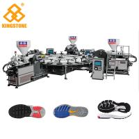 Best 1 / 2 / 3 / 4 Color TPR PVC Sole Making Machine 100-120pairs / Hour For Plastic Shoes wholesale
