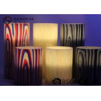 Best Multi Color Real Wax Flameless Candles Set Of 2 For Home Decoration wholesale