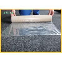 China Self Adhesive Carpet Floor Stairs Protection Film Heavy Duty Puncture & Water Resistant on sale