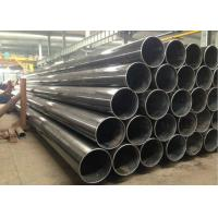 Best Black Painting Welded Steel Pipe For Petroleum , Natural Gas Transportation Oil Line Pipe wholesale