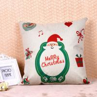 Best Printed Pillow Cushion Covers , Christmas Series Decorative Sofa Pillows wholesale