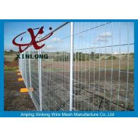Best Security Temporary Fencing Panels Welded Wire Mesh Fence Metal Base Temporary Site wholesale