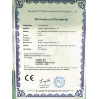 BNC INTERNATIONAL LIMITED Certifications