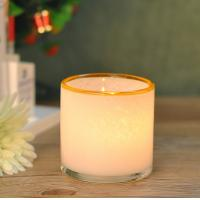 Best Customed color Hand Blown Glass Candle Holder Vessel With Artisanally Crafted wholesale