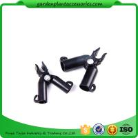 Best Adjustable Garden Cane Connectors , 16mm Black Bamboo Cane Connectors 50*40*40 Free sample wholesale