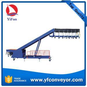 China Telescopic truck loading conveyor/electric motor for conveyor belt/conveyor belt price on sale