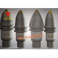 High End Steel Body Carbide Trencher Teeth alloy Head For Stone Drilling