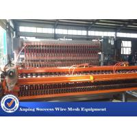 Best Customized Wire Mesh Making Machine With PLC Digital Programming System wholesale