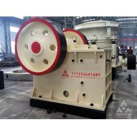 Buy cheap Crushing machine price PEV series European type Jaw Crusher for highway and chemical from wholesalers