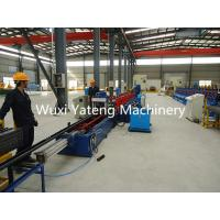 25KW Storage Rack Roll Forming Machine With Buffer 25000mm * 2000mm * 1700mm