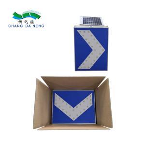 Best Aluminum  Solar Traffic Signal  Customized Size Warning Led Road Sign Roadway Safety wholesale