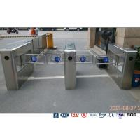 Best Auto Sensor Supermarket Swing Barrier Gate Door Revolving Entrance Waist High Turnstile wholesale