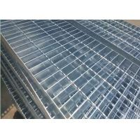 Best Plain Type Metal Walkway Grating , 25 X 5 / 30 X 3 Galvanized Floor Grating wholesale
