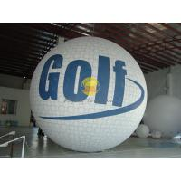 Best White Inflatable Golf Ball Sport Balloons with Full Digital Printing for Trade Show wholesale