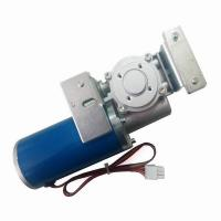 Best Round Automatic Sliding Door Motor Long Blue Casing Permanent Magnet High Efficiency 24 Voltage wholesale