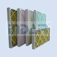 Best No Metal Disposable Air Filters HVAC Low Pressure Drop Media For Air Conditioner wholesale