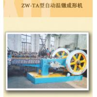 380V Automatic Hot Forging Machine With 98% Passing Rate , Green / Yellow Color