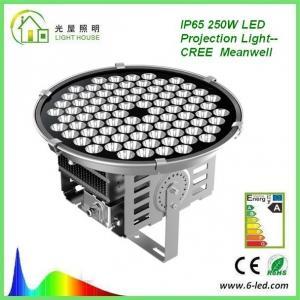 Best High Power 250W Floodlight High Mast Lighting Firxture , IP67 High Mast Tower Lighting wholesale