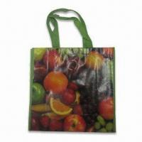 China Water-resistant Laminated Nonwoven Gift Bag with Color Printing, Eco-friendly, Reusable on sale