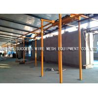 Best Eco Friendly Wire Fence Making Machines , PVC Wire Coating Machine Various Colors wholesale