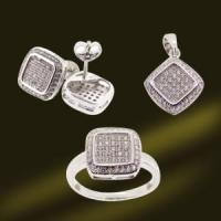 Best 925 Sterling Silver Micro Setting Jewelry (RSA5378) wholesale