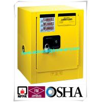 Best 4 Gallon / 15 L Chemical Safety Storage Cabinets Manual Closing For Laboratory wholesale