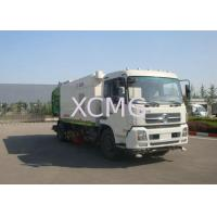 Best Multifunction Road Sweeper Truck 5tons , Vacuum Sweeper Trucks With Washer wholesale