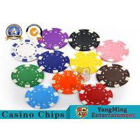 Best PMS Printing Casino Poker Chips Abs Plastic Inner Steel Core Environmental Protection Material wholesale