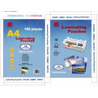 China A4 laminating pouch film A4 laminating pouches  plastic pouch laminating film on sale
