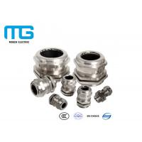 Best IP68 Cable Accessories Electrical Nickel Plated Brass Metal Cable Gland wholesale