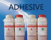 Tooling Board Adhesive, can bond tooling block to larger plate as per production request