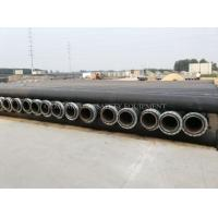 Best HDPE dredging pipe and dredging plastic pipe with MDPE float buoy or plastic pontoon wholesale