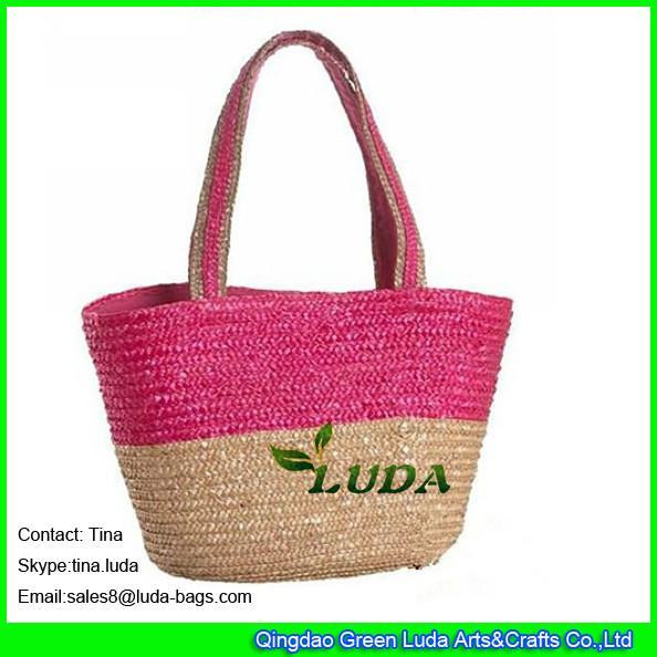 Details Of Luda 2016 Best Selling Wheat Straw Shoulder Bag