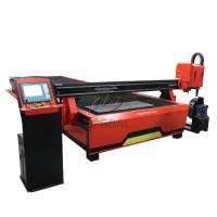 Cheap 2060 CNC Steel Sheet & Steel Pipe Plasma Cutting Drilling Machine with Rotary Axis/200A Hypertherm Plasma Power Supply for sale
