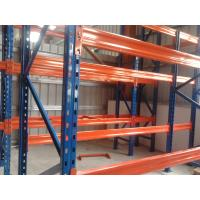 Quality 3 Levels Heavy Duty Racking System With Steel Plate Decking 3000H * 1000D * 2300L wholesale