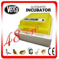 Best High hatching rate Industrial Egg Incubator For Chicken Eggs for hatching VA-48II wholesale