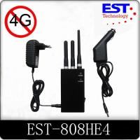 Best Lightweight Cell Phone Frequency Blocker , 500mw Handheld Cell Phone Jammer wholesale