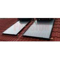 Buy cheap Blue Coating Flat Plate Solar Collector , Blue Absorber Flat Panel Solar from wholesalers