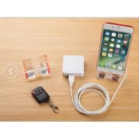 Buy cheap COMER acrylic mobile security stand for phone for retail stores 2-port alarm display system from wholesalers