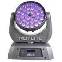 Cheap 10°- 60° Zoom LED Wash Moving Head 36 Units 10w RGBW Quad High Power for sale