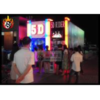 Cheap Amazing 5D Movie Theater Equipment with Motion Ride , Hydraulic XD Cinema for sale
