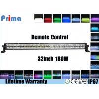 Best 32 Inch Halo Remote Control LED Light Bar Spot / Flood / Combo Beam wholesale