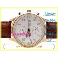 China Pilot Men's Automatic Watches Genuine Leather Strap Watch on sale