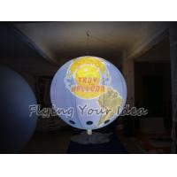 Best Custom Colorful Inflatable Lighting Balloon globe with total digital printing for Parade wholesale