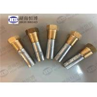 Buy cheap ASTM B418-95 Water Heater Anode Rod Complete Zinc Pencil Anode For Marine Engine from wholesalers