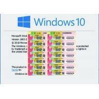 Buy cheap Genuine Ms Win 10 Pro French Version Original For Option Support Fast Delivery from wholesalers