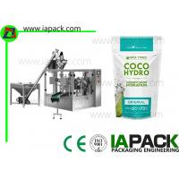 China Doypack Cocoa Powder Pouch Filling Machine , Valve Bag Packing Machine on sale