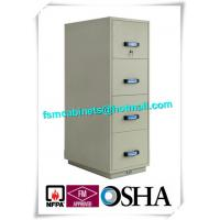 Best Steel Fireproof File Cabinets 4 Drawer For Important Papers / Medium / Data wholesale