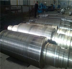 High Hardness Industrial Rolling Mill Rolls To Rolling Aluminum Belt Dia 450 - 800 mm  100% UT